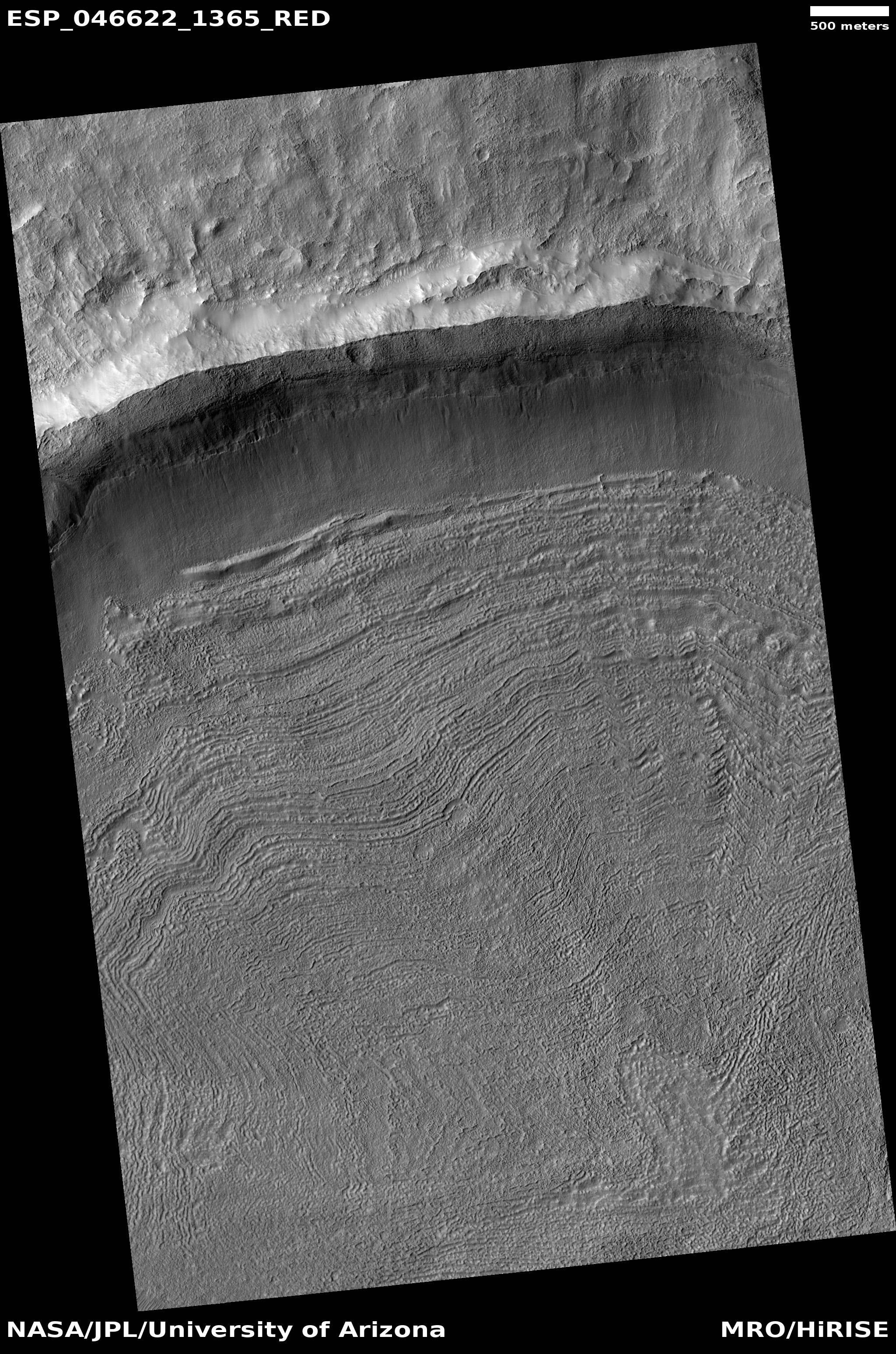 Concentric Crater Fill Lat: 43.1° S Long: 219.8°E (140.2 W