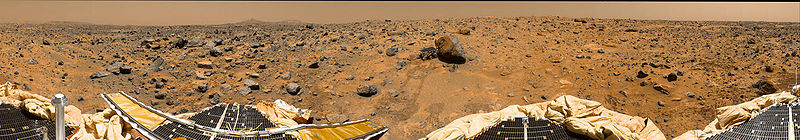 View from Mars Pathfinder