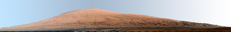 Wide view of Mt. Sharp
